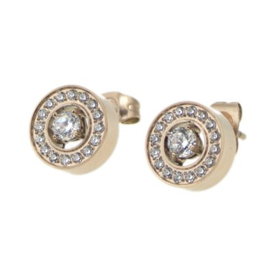INGNELL JEWELLERY - Estelle Stud Rose Gold
