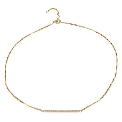 INGNELL JEWELLERY - LINE NECKLACE GOLD