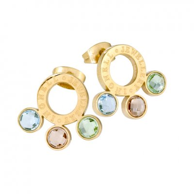 Ingnell Jewellery - Mikaela Studs Gold Plated