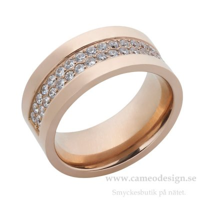 Ingnell Jewellery - Sara Ring Rose Gold