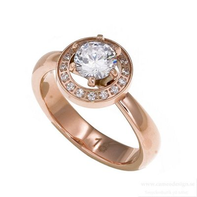 INGNELL JEWELLERY - ESTELLE RING ROSE GOLD