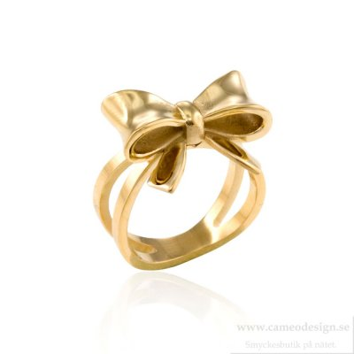 INGNELL JEWELLERY - Molly Ring Deluxe Gold
