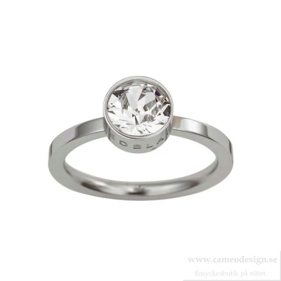 EDBLAD - Diana Ring Clear Crystal Steel