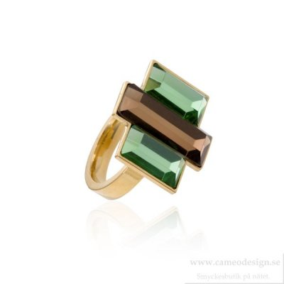 Ingnell Jewellery - Allison Ring Goldplated