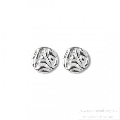 Shieldmaid - Örhängen Silver Mini Shield Small Ear Stud