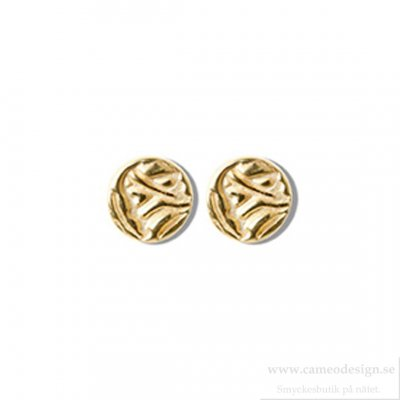Shieldmaid - Örhängen Guld Mini Shield Small Ear Stud
