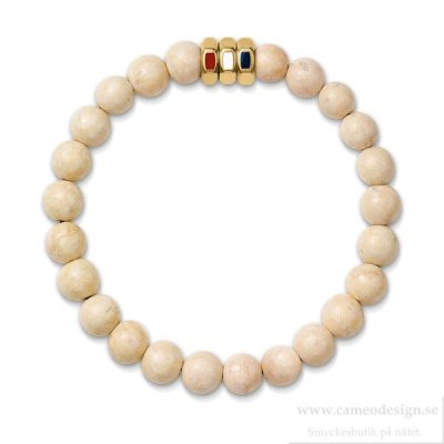 Tommy Hilfiger - CASUAL BEADED BRACELET BONE