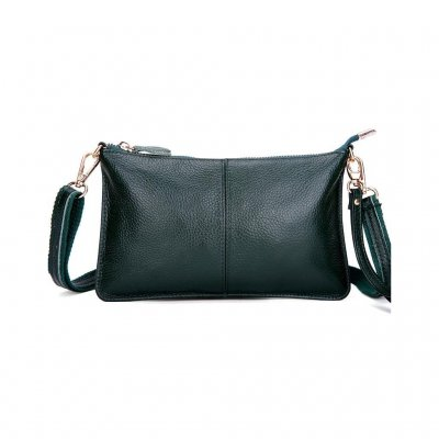 Just d´lux - Clutch Leather Dark Green